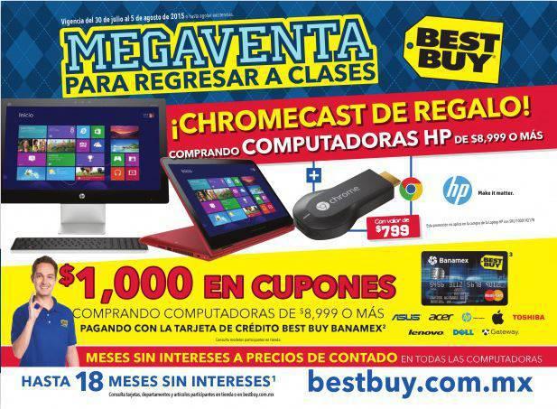 Best Buy: Catalogo de Promociones del 30 de Julio al 5 de Agosto