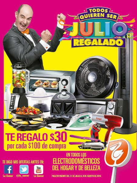 Folleto Julio Regalado 2015 en La Comer