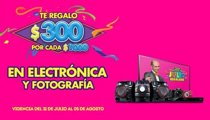 Julio Regalado 2015 La Comer Electrónica y Fotografia