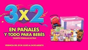 Julio Regalado en La Comer: 3 x 2 en pañales y todo para bebés