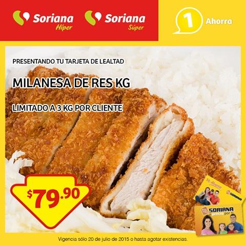 Soriana Promocion Tarjeta Lealtad Carne de Res Para Asar $79.90kg