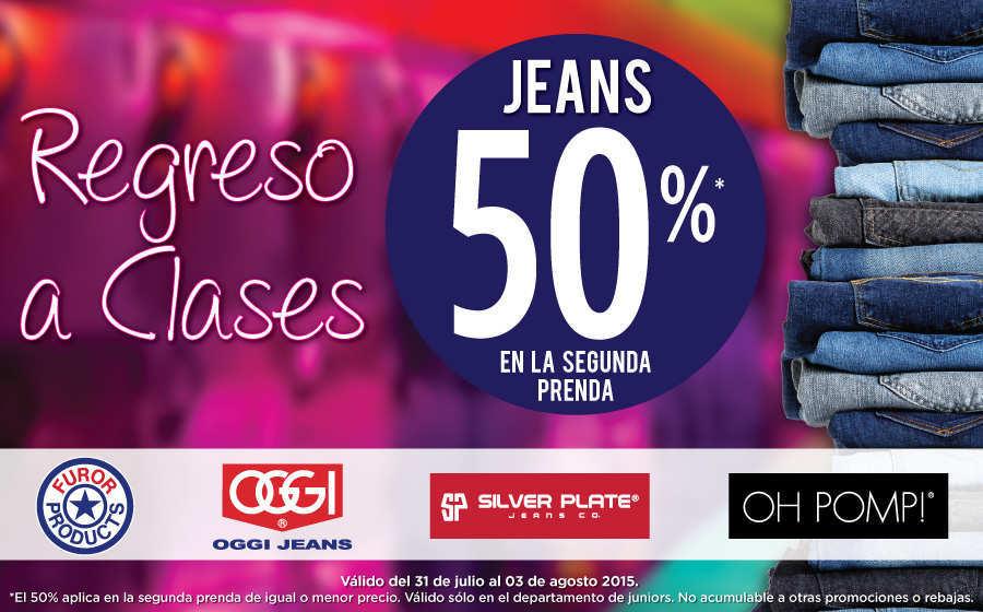 Suburbia jeans descuento en la segunda prenda