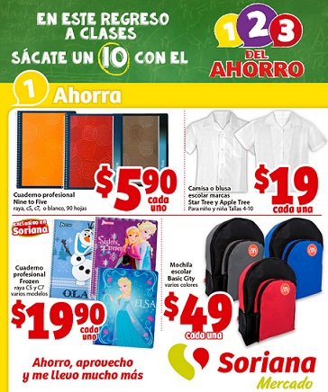 Folleto de ofertas Soriana Mercado al 30 de julio