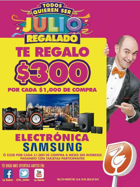 Folleto Julio Regalado 2015 en Comercial Mexicana