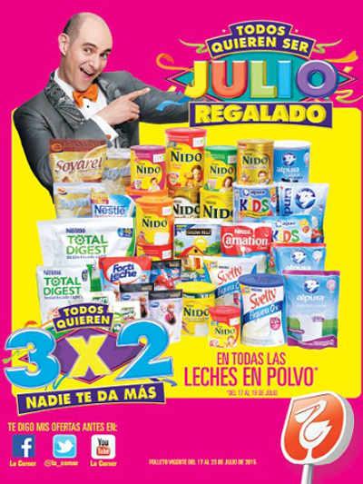 Folleto Julio Regalado La Comer