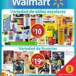 Folleto Walmart Ofertas Julio Agosto 2015