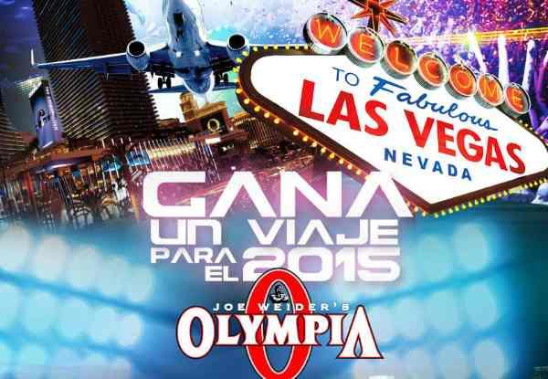 Gana un viaje a Las Vegas con GNC Y Mr. Olympia