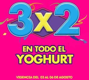 Julio Regalado 2015 3x 2 en todo el yogurt