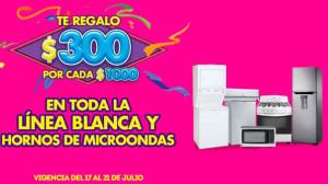Julio Regalado 2015 en Comercial Mexicana Linea Blanca y Microondas