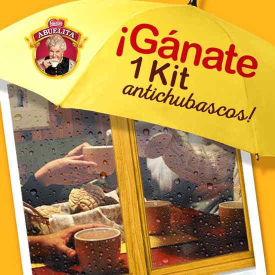 Promocion Chocolate Abuelita Gana Kits Antichubascos