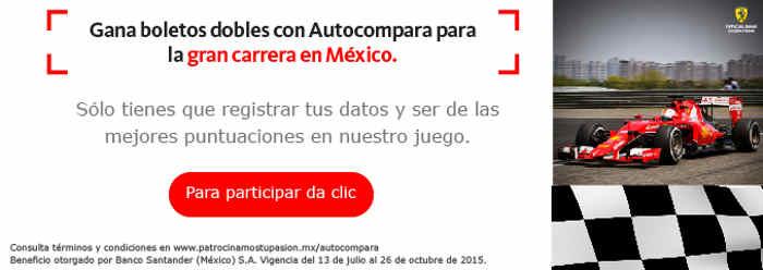 Promocion Autocompara Santander Gana Boletos
