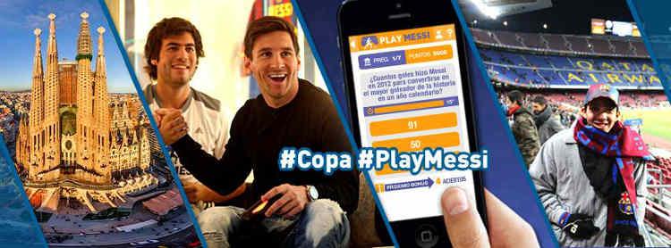 Promocion Play Messi Gana Viaje para conocer a Messi