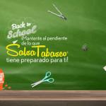 Promocion Salsa Tabasco Back to School