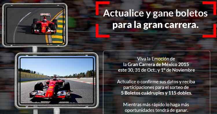 Promocion Santander Gana Boletos Para La Gran Carrera de México