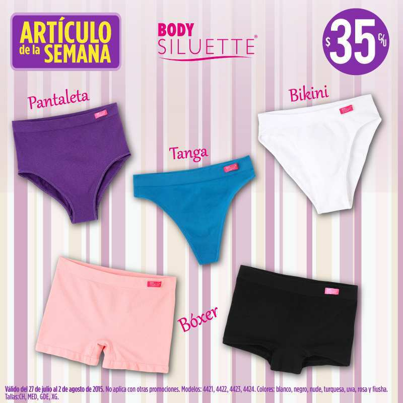 Suburbia: bikinis, boxers y pantaletas a $35