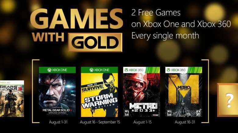 Xbox Live Ofertas de Games With Gold