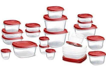 Amazon Mexico Set de contenedores 42 piezas Rubbermaid