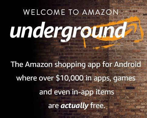 Amazon Underground Apps y juegos para Android gratis