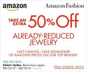 Amazon cupón de descuento en joyería rebajada