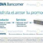 BBVA Bancomer bocina de regalo