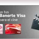 Banorte te regala 2 boletos gratis para el cine