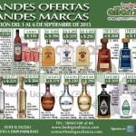 Promociones de vinos y licores en Bodegas Alianza