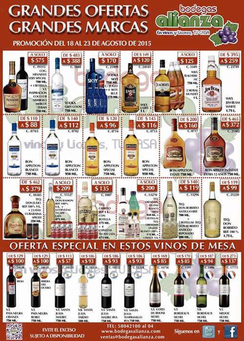 Bodegas Alianza Ofertas en Vinos y Licores