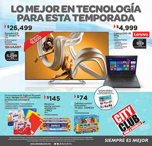 City Club Folleto de Ofertas