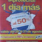 Chedraui Folleto Chedraui al 50% en cupones