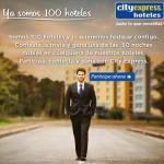 Promocion Hoteles City Express Gana Noches de Hospedaje Doble