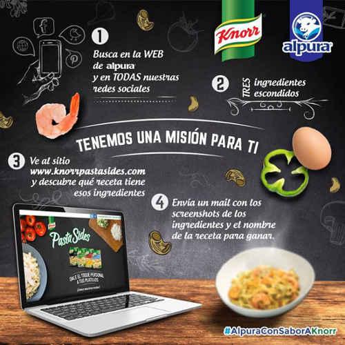 Promocion Alpura y Knorr Gana un kit de productos