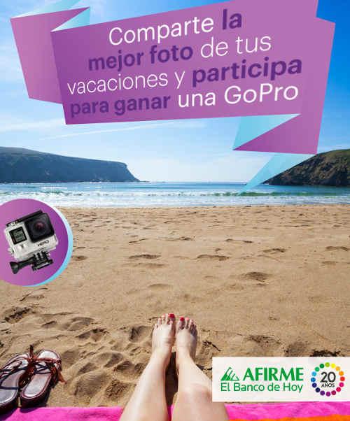 Promocion AFIRME Gana Cámara GoPro