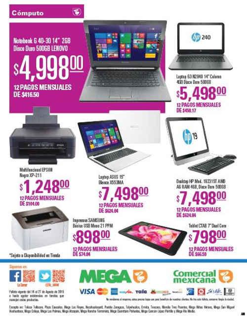 Home > Folletos > Promociones y ofertas > Folleto Comercial Mexicana Agosto 2015 Folleto Comercial Mexicana Agosto 2015