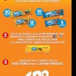 Gana boletos gratis para CD9 con envolturas Bubulubu