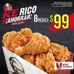 Promoción KFC piezas de pollo