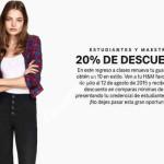 H&M ofertas de Regreso a clases