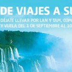 LAN Outlet de viajes a Sudamérica vuelos desde $379 USD