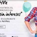Privalia $150 de descuento y 12 meses sin intereses pagando con PayPal