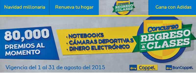 Promocion Coppel Regreso a Clases 2015