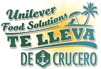 Promocion Unilever Food Solutions Gana Viaje en Crucero