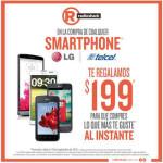 RadioShack Compra Celular LG Telcel y te llevas de regalo $199 pesos