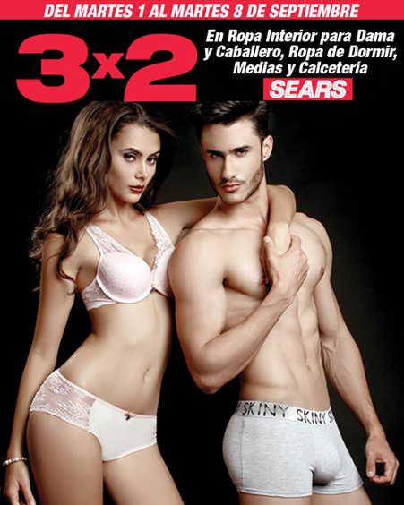 Sears 3x2 en ropa interior para dama y caballero ropa de for Ropa interior caballero