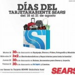 Días del tarjetahabiente Sears