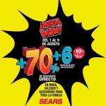 Sears descuento en ropa, calzado y accesorios