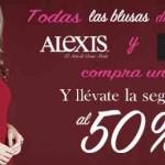 Suburbia 2x1 en todas las blusas marca Alexis y Pierre Cardin