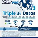 Planes Telcel PRO Triple de Megas