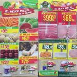 Frutas y Verduras de Tianguis de Mamá Lucha en Bodega Aurrerá