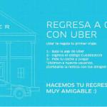 Uber Cupón de descuento para Regreso a clases 2015