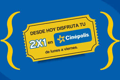 Virgin Mobile: 2x1 en Cinepolis y Boleto gratis