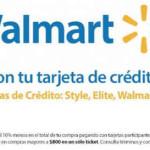 Walmart Súper en linea descuento en toda la tienda con BBVA Bancomer, Banco WM y Sam's